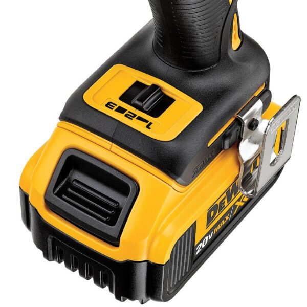 DEWALT 20-Volt MAX XR Cordless Brushless 3-Speed 1/4 in. Impact Driver (Tool-Only)