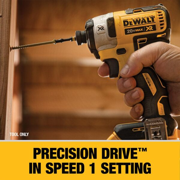 DEWALT 20-Volt MAX XR Cordless Brushless 3-Speed 1/4 in. Impact Driver with (1) 20-Volt 4.0Ah Battery