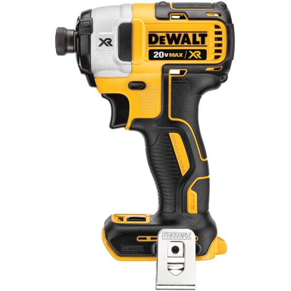 DEWALT 20-Volt MAX XR Cordless Brushless 3-Speed 1/4 in. Impact Driver with (3) 20-Volt 5.0Ah Batteries & Charger