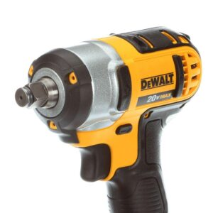 DEWALT 20-Volt MAX Cordless 1/2 in. Impact Wrench Kit with Detent Pin, (1) 20-Volt 3.0Ah Battery & Charger