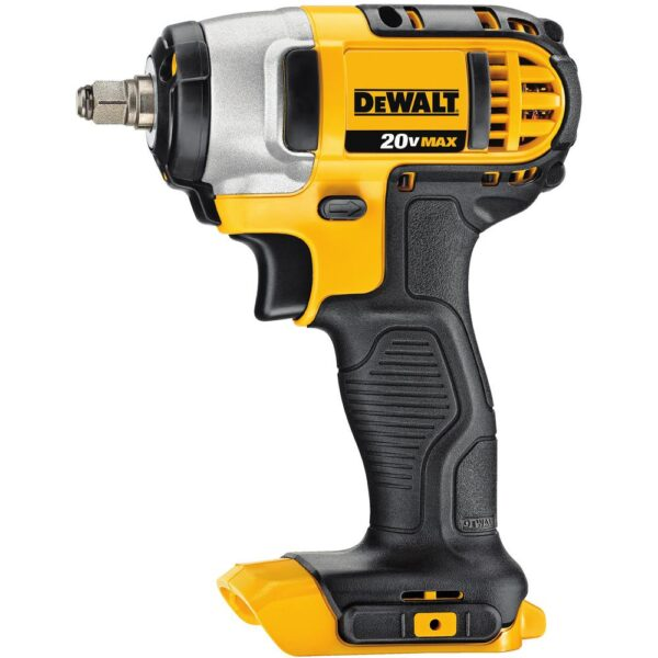 DEWALT 20-Volt MAX Cordless 3/8 in. Impact Wrench Kit with Hog Ring, (2) 20-Volt 4.0Ah Batteries & (1) 20-Volt 5.0Ah Battery