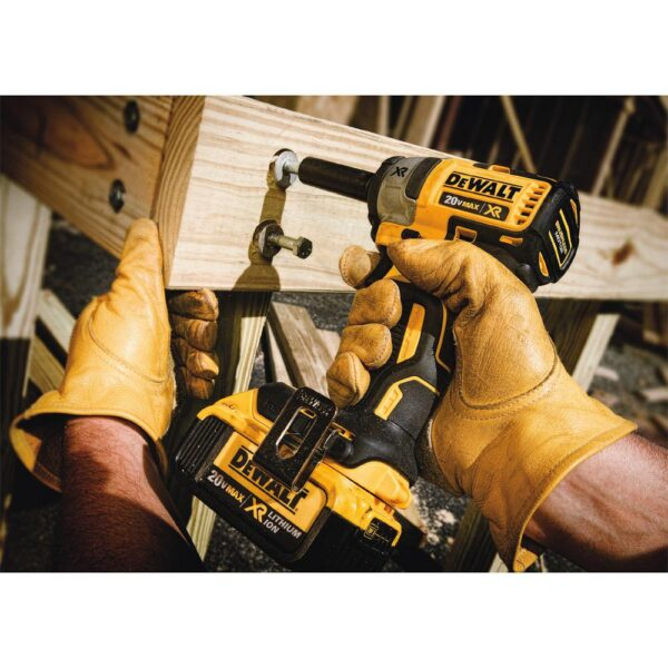 DEWALT 20-Volt MAX XR Cordless Brushless 3/8 in. Compact Impact Wrench (Tool-Only)