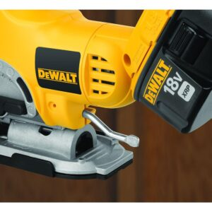 DEWALT 18-Volt Ni-Cd Cordless Jig Saw with Keyless Blade Change (Tool-Only)