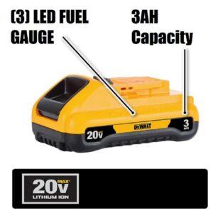 DEWALT 20-Volt MAX XR Cordless Brushless Jigsaw with (1) 20-Volt Battery 3.0Ah