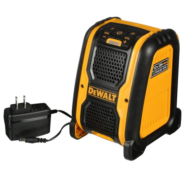 DEWALT 20-Volt/12-Volt Max Bluetooth Speaker