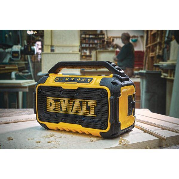 DEWALT 20-Volt MAX Bluetooth Speaker with 22 in. ToughSystem Tool Box