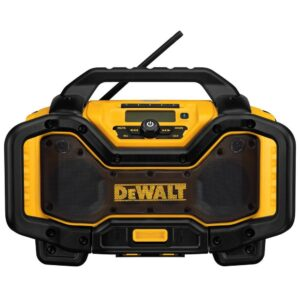 DEWALT 20-Volt MAX Bluetooth Radio with built-in Charger
