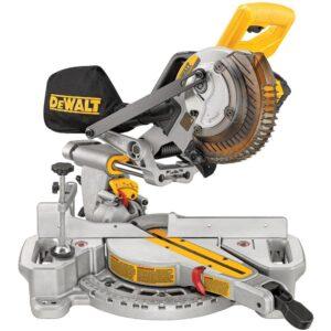 DEWALT 20-Volt MAX Cordless 7-1/4 in. Sliding Miter Saw with (1) 20-Volt Battery 4.0Ah & 5 in. Random Orbital Sander