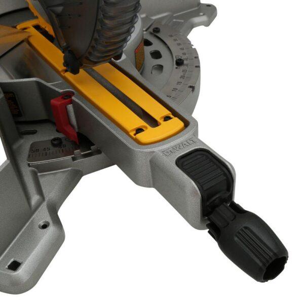 DEWALT 15 Amp Corded 12 in. Dual Bevel Sliding Compound Miter Saw