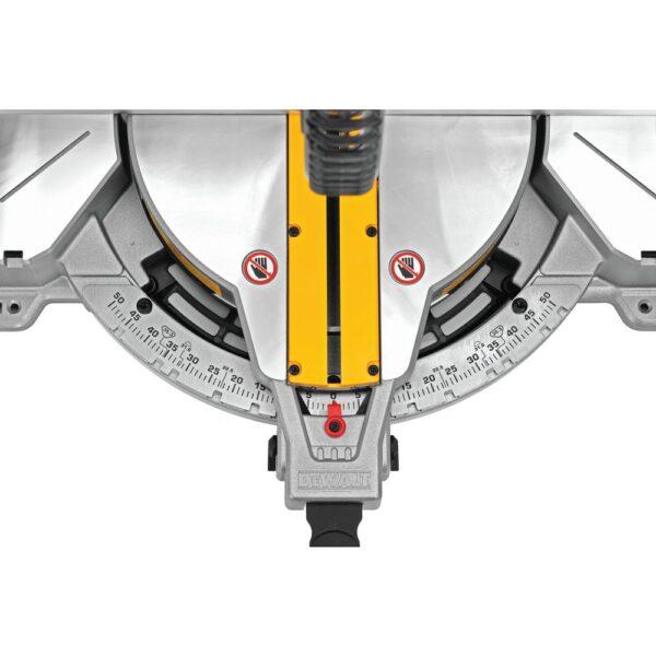 DEWALT 15 Amp Corded 12 in. Compound Double Bevel Miter Saw