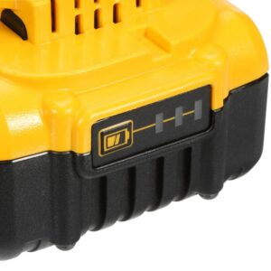 DEWALT ATOMIC 20-Volt MAX Cordless Brushless Oscillating Multi-Tool, 5 in. Random Orbital Sander & (1) 20-Volt Battery 5.0Ah