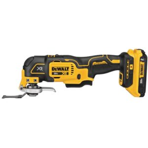 DEWALT 20-Volt MAX XR Cordless Brushless 3-Speed Oscillating Multi-Tool with (1) 20-Volt 2.0Ah Battery & 6-1/2 in. Circular Saw