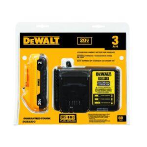 DEWALT 20-Volt MAX XR Cordless Brushless 3-1/4 in. Planer with (1) 20-Volt 3.0Ah Battery & Charger