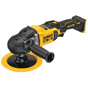 DEWALT 20-Volt MAX XR Cordless Brushless 7 in. Variable Speed Rotary Polisher (Tool-Only)