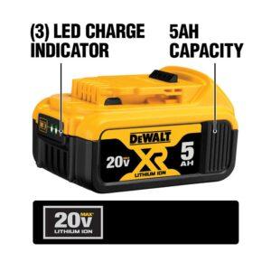 DEWALT 20-Volt MAX Cordless Band Saw with (1) 20-Volt Battery 5.0Ah