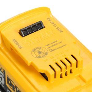 DEWALT 20-Volt MAX Cordless Band Saw with (1) 20-Volt Battery 5.0Ah & Charger