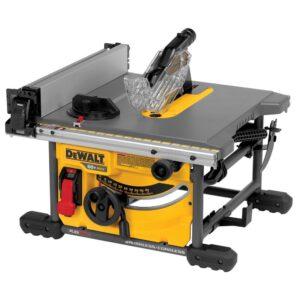 DEWALT FLEXVOLT 60-Volt MAX  Cordless Brushless 8-1/4 in. Table Saw Kit with (3) FLEXVOLT 6.0Ah Batteries