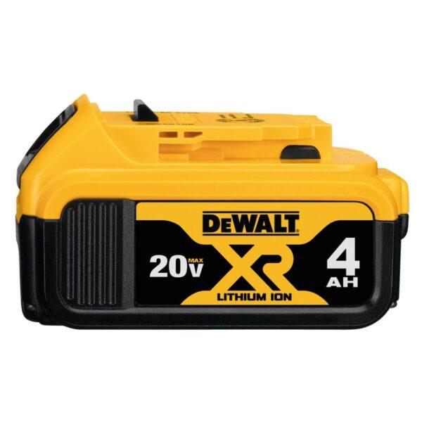 DEWALT 20-Volt MAX Cordless 14-Gauge Swivel Head Double Cut Shears with (2) 20-Volt Batteries 4.0Ah & Charger