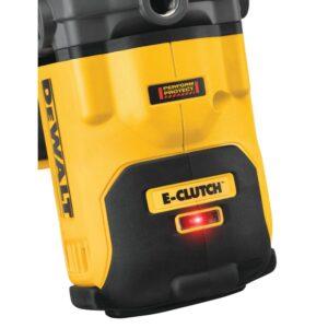 DEWALT FLEXVOLT 60-Volt MAX Cordless Brushless 1/2 in. Mixer/Drillwith E-Clutch & (1) FLEXVOLT 9.0Ah Battery