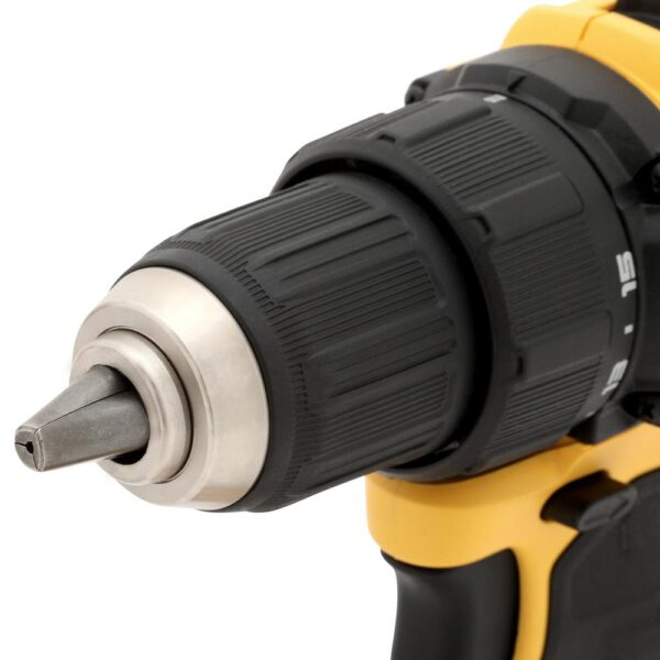DEWALT ATOMIC 20-Volt MAX Cordless Brushless Compact 1/2 in. Drill/Driver, (2) 20-Volt 1.3Ah Batteries & Reciprocating Saw