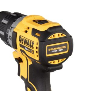 DEWALT 20-Volt MAX XR Cordless Brushless 1/2 in. Drill/Driver with (1) 20-Volt 5.0Ah Battery, Charger & Bag