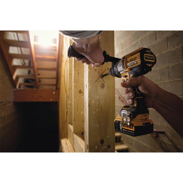DEWALT 20-Volt MAX XR Cordless Brushless 3-Speed 1/2 in. Drill/Driver (Tool-Only)