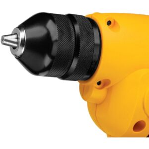 DEWALT 8 Amp 3/8 in. Variable Speed Reversing Mid-Handle Drill Kit with Keyless Chuck
