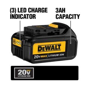 DEWALT 20-Volt MAX Premium Lithium-Ion 3.0Ah Battery Pack