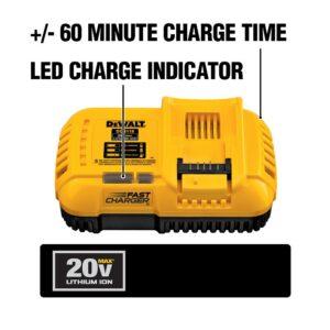 DEWALT 20-Volt MAX Lithium-Ion Fan Cooled Fast Battery Charger