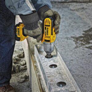 DEWALT FLEXVOLT 60-Volt MAX Cordless Brushless 4-1/2 in. Angle Grinder, (1) FLEXVOLT 6.0Ah Battery & 1/2 in. Impact Wrench