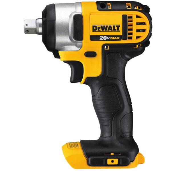 DEWALT 20-Volt MAX XR 1 in. SDS Plus L-Shape Rotary Hammer w/ Extractor, (2) 20-Volt 5.0Ah Batteries & 1/2 in. Impact Wrench