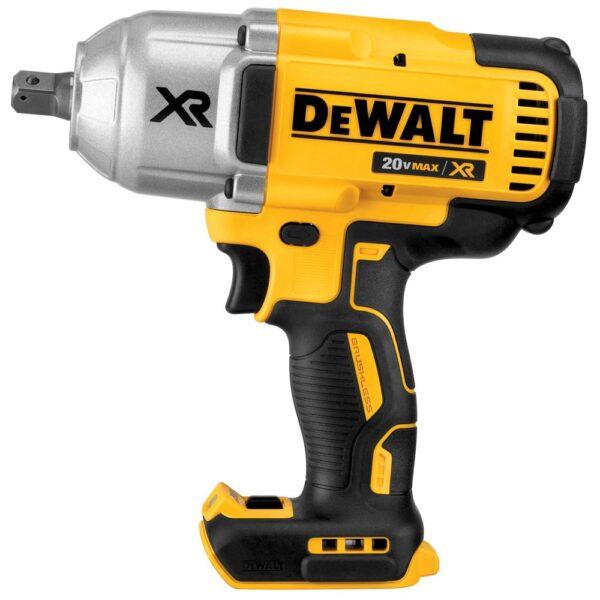 DEWALT FLEXVOLT 60-Volt MAX Brushless 1-7/8 in. SDS MAX Rotary Hammer, (2) FLEXVOLT 9.0Ah Batteries & 1/2 in. Impact Wrench