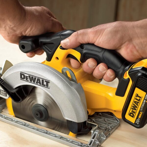 DEWALT 20-Volt MAX Cordless Drill/Impact Combo Kit (2-Tool) with (2) 20-Volt 1.3Ah Batteries, Charger & 6-1/2 in. Circular Saw