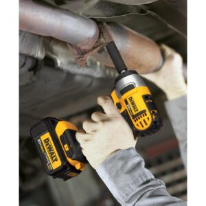 DEWALT 20-Volt MAX Cordless Impact Wrench, Impact Driver & Light Combo Kit (3-Tool) with (2) 20-Volt 4.0Ah Batteries & Charger