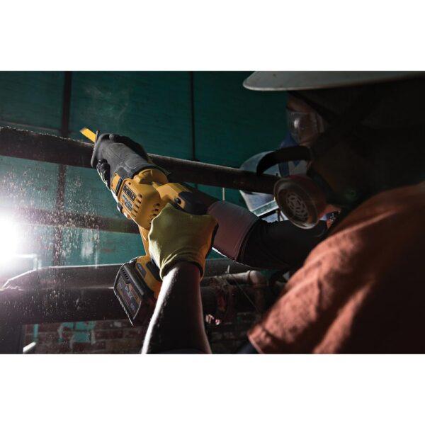 DEWALT FLEXVOLT 60-Volt MAX Lithium-Ion Cordless Brushless Reciprocating Saw with (2) Batteries 2Ah and Bonus Impact Driver