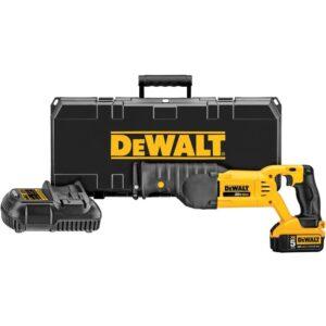 DEWALT 20-Volt MAX Cordless Reciprocating Saw with (1) 20-Volt Battery 5.0Ah & Charger