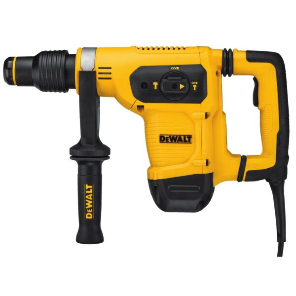 DEWALT 10.5 Amp 1-9/16 in. Corded SDS-MAX Combination Concrete/Masonry Rotary Hammer with SHOCKS and Case