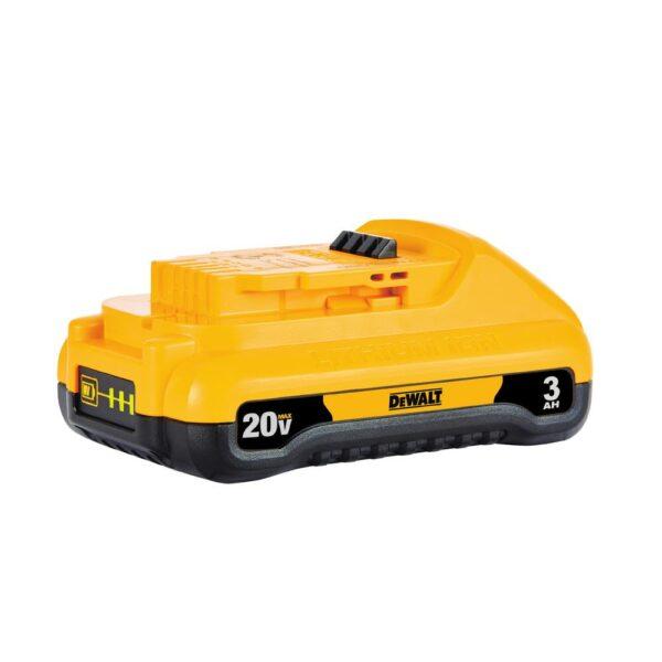 DEWALT 20-Volt MAX Cordless Brushless 1 in. SDS Plus D-Handle Concrete & Masonry Rotary Hammer & (1) 20-Volt 3.0Ah Battery
