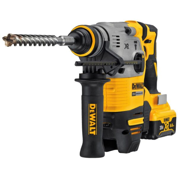 DEWALT 20-Volt MAX XR Cordless Brushless 1-1/8 in. SDS Plus L-Shape Rotary Hammer (Tool-Only)