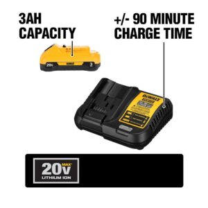 DEWALT 20-Volt MAX Cordless Drywall Cut-Out Tool with (1) 20-Volt Battery 3.0Ah & Charger