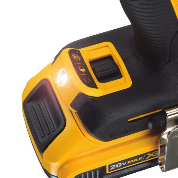 DEWALT 20-Volt MAX XR Cordless Brushless Cable Stripper with Stapler, (1) 20-Volt 5.0Ah Battery & (1) 20-Volt 2.0Ah Battery