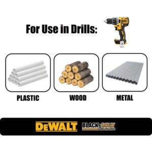 DEWALT Black and Gold Drill Bit Set (14-Piece)