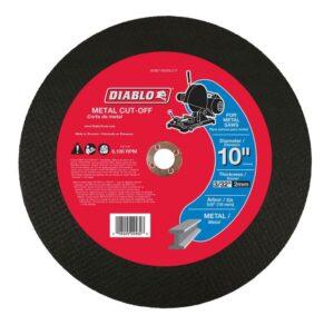 DIABLO 10 in. x 3/32 in. x 5/8 in. Metal Cut-Off Disc