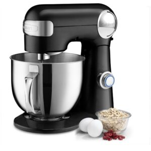 Cuisinart 5.5 Qt. 12-Speed Black Stand Mixer with Accessories