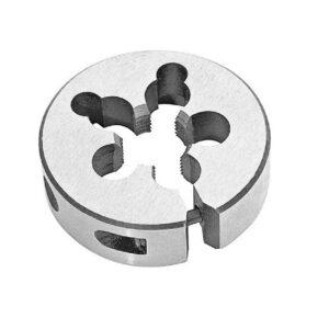 Drill America m18 x 1.5 x 1-1/2 in. Outside Diameter High Speed Steel Round Threading Die, Adjustable