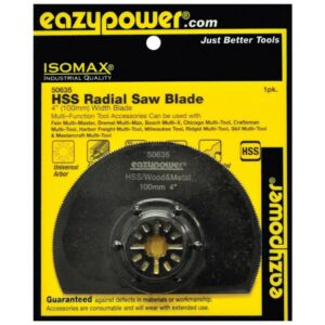 eazypower 100 mm/4 in. Oscillating High Speed Steel Radial Saw Blade