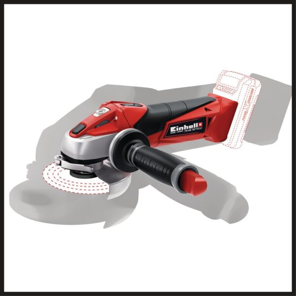 Einhell PXC 18-Volt Cordless 4.5 in., 8500 RPM Angle Grinder/Cutoff Tool for Grinding and Cutting (Tool Only)
