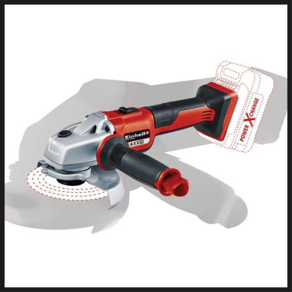 Einhell PXC 18-Volt Cordless 5 in. Brushless 8500 RPM Angle Grinder/Cutoff Tool Kit (w/ 3.0-Ah Battery and Fast Charger)