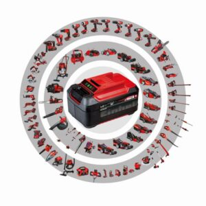 Einhell 18-Volt Power X-Change Cordless 5 in. Random Orbital Sander Kit with 3.0 Ah Battery and Fast Charger