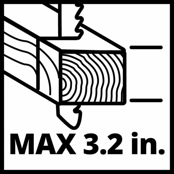 Einhell PXC 18-Volt Cordless 2400-SPM Jig Saw, 1 in. Stroke Length, 47° Max Bevel Angle, w/ LED (Tool Only)